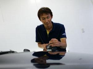 岡山のカーコーティング専門店エバーグレイスコーティングアーツ代表