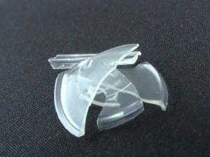 完全硬化したガラスコーティング