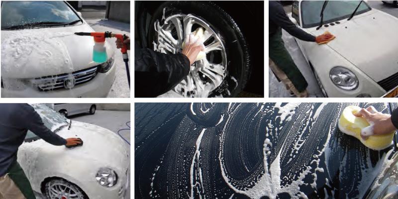 手荒い洗車メニュー