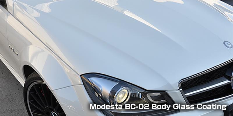モデスタBC02ボディガラスコーティング流水タイプ