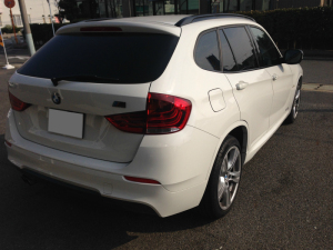 BMW X1コーティング