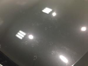 BMW 3シリーズ ブラックメタリック  磨き前