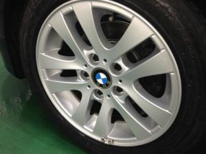 BMW 3シリーズ ブラックメタリック  ホイールコーティング