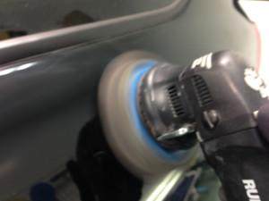 ランドクルーザーガラスコーティング磨き