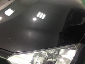 トヨタ アクア ブラック ボディガラスコーティング