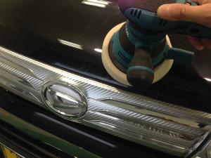 ダイハツ タント ブラックメタリック ボディガラスコーティング